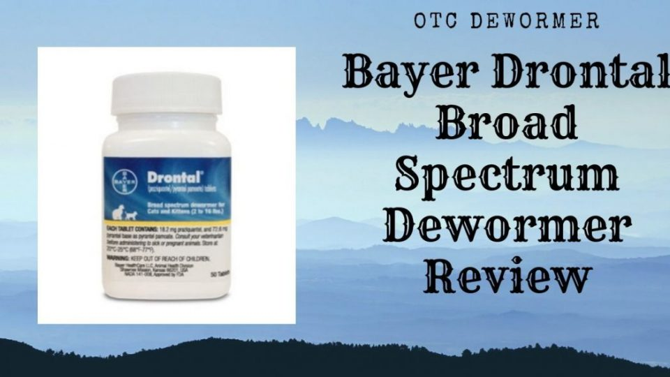 Bayer Drontal Broad Spectrum Dewormer